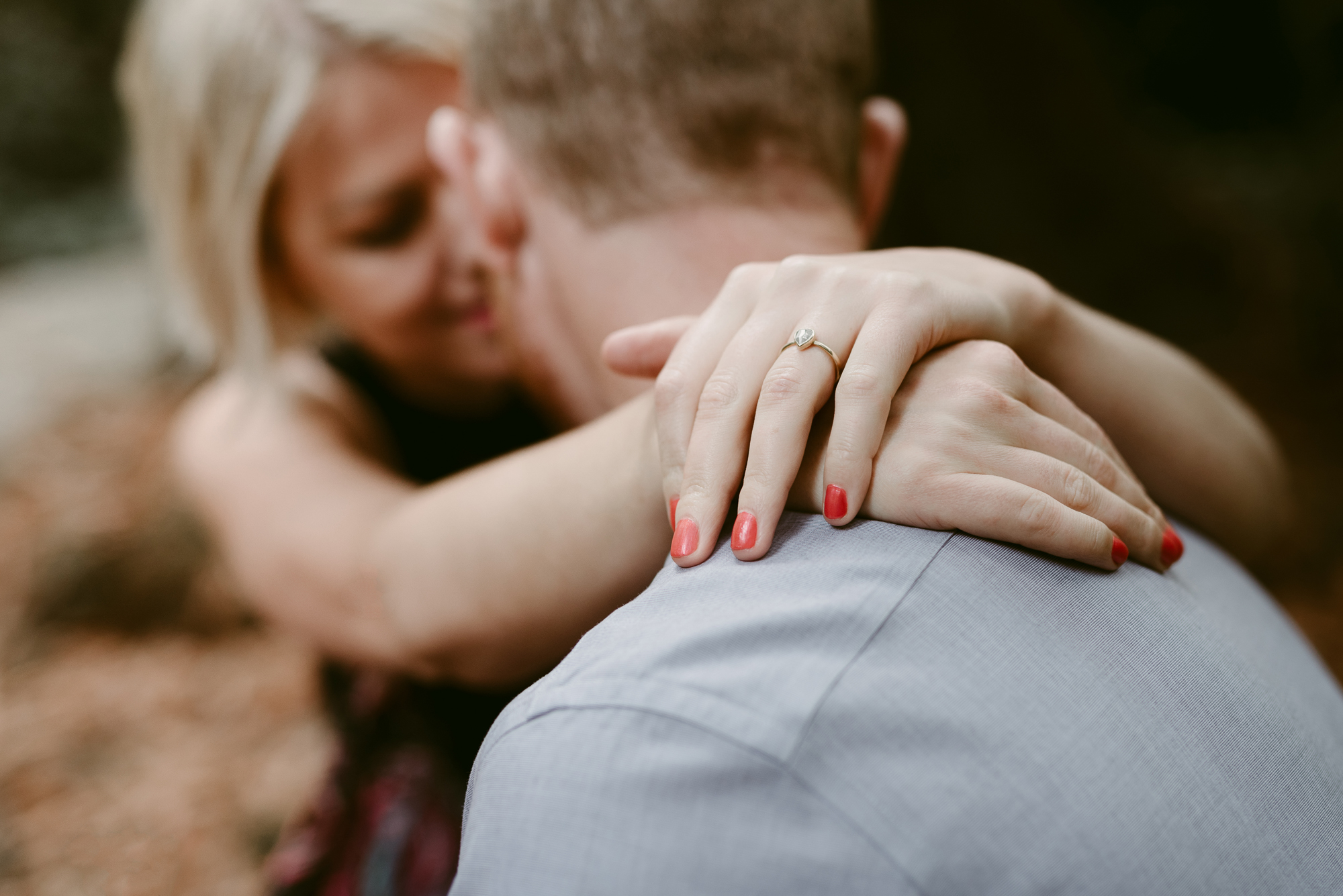 Beautiful Ring Portrait for Engagement Session in San Francisco