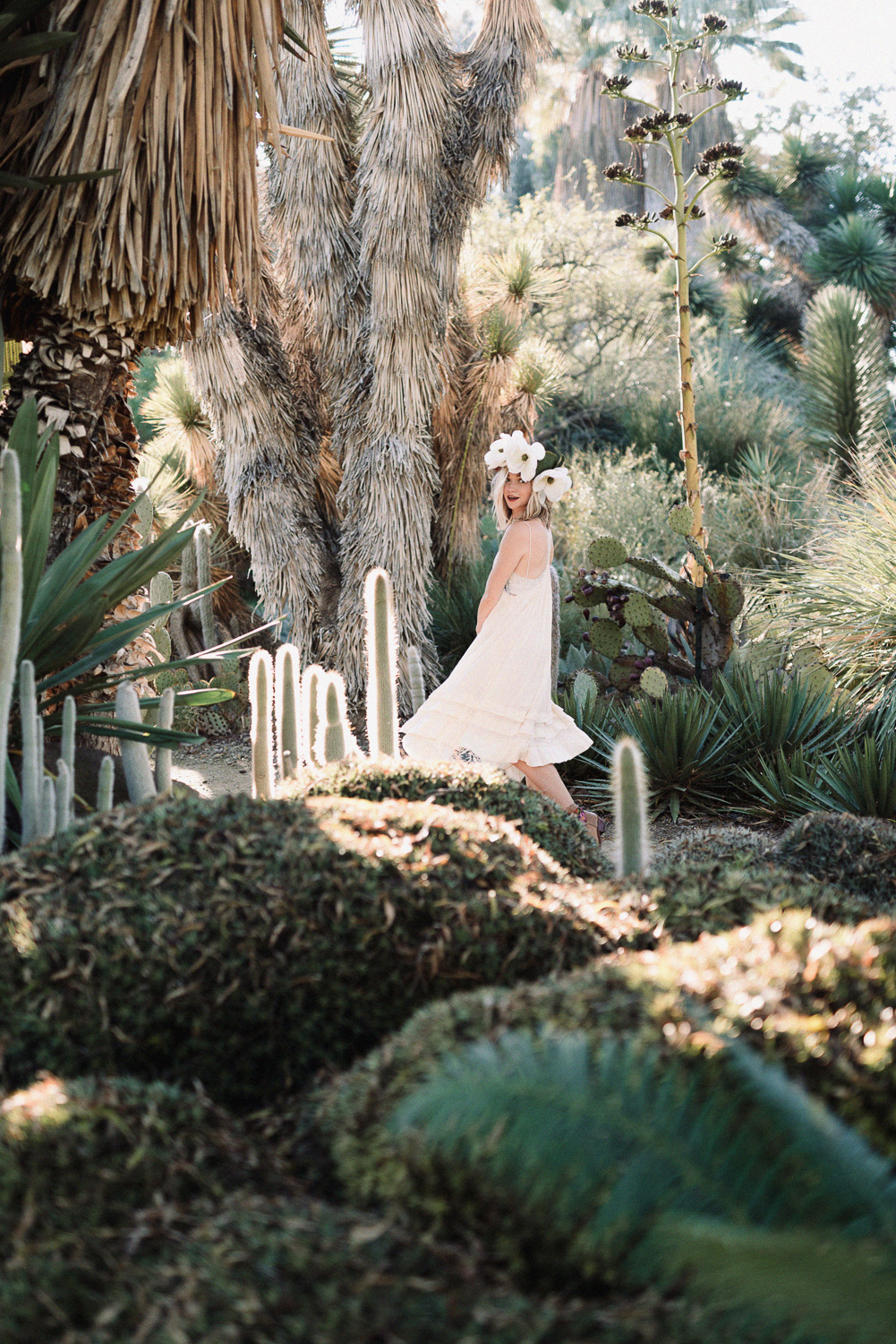 Cacti and Flower themed Styled Portrait Session in Walnut Creek,
