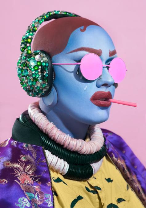 """Overstimulation, 2016, digital print, 16"""" x 20"""" by Ashlynn Danielsen"""