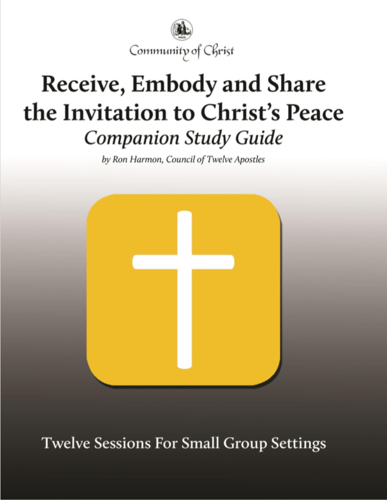 Receive, Embody, & Share Study Guide