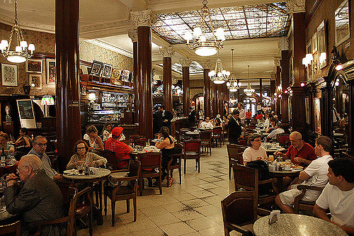 A cafe in Buenos Aires