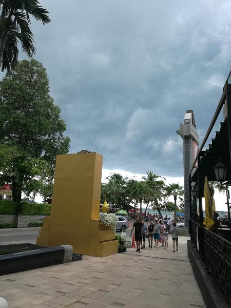 Outside Central Festival Pattaya