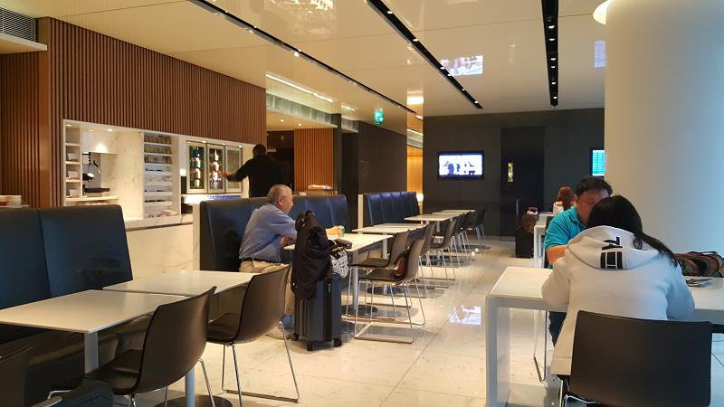 Cathay Pacific Cabin Lounge