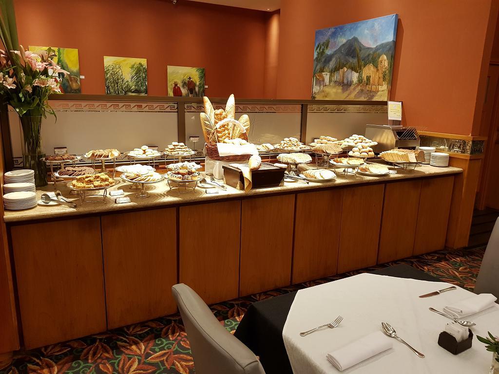Breakfast buffet in Salta