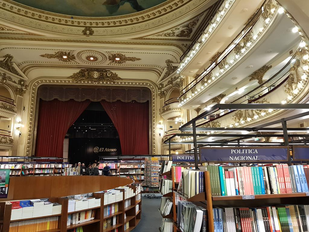 The El Ateneo bookstore