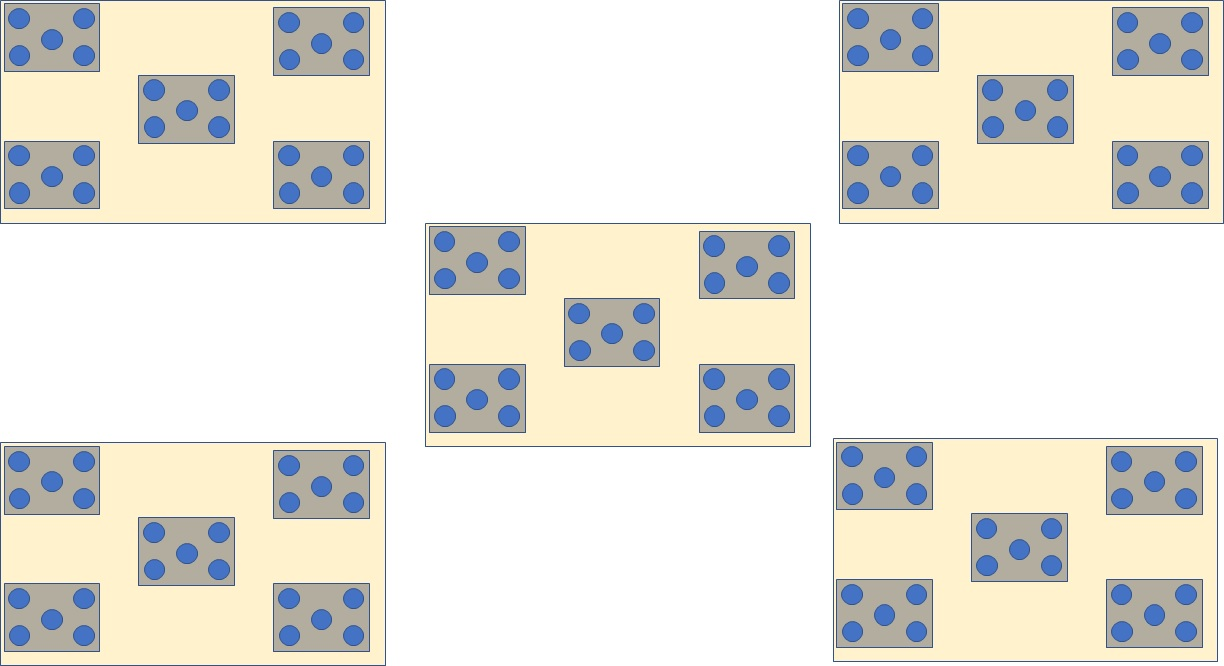 A Magical QUINCUNX (100 item holding places) - MACUNX
