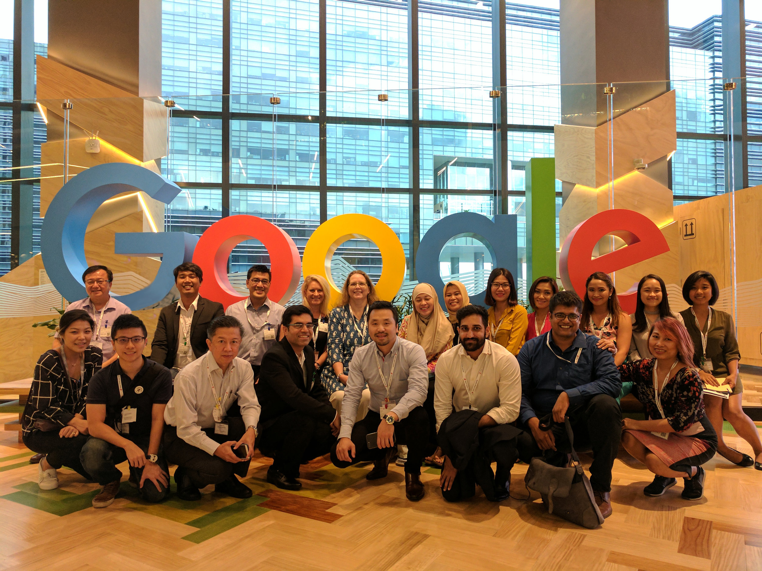The First Digital Champions Workshop  - May 15 2017MSMEs from across Asia-Pacific gather at Google's Singapore HQ to learn about navigating trade policy to grow their business and commit to collaboration in their small business sectors.