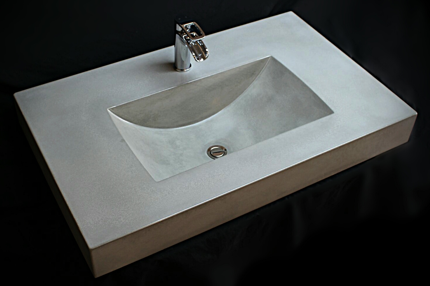 shallow wave sink
