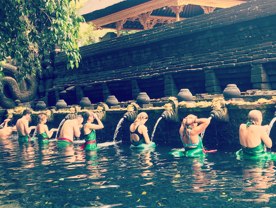 Water Ritual - Experience a water ritual at a Temple…