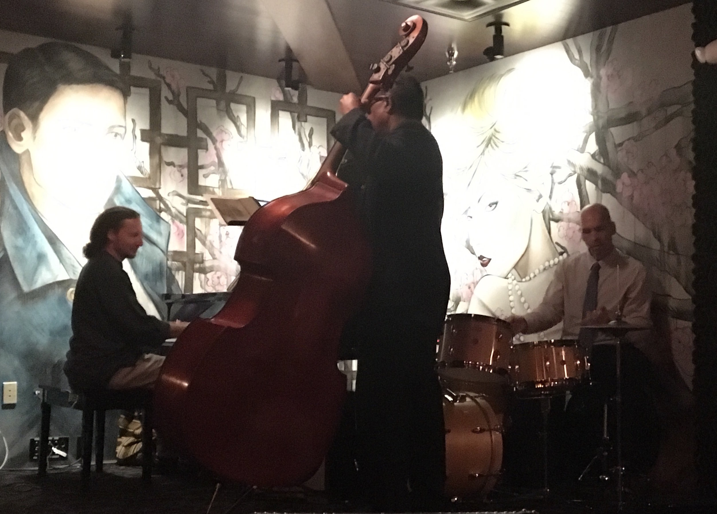 Piano - Grant Levin, Upright Bass - Charles Thomas, Drums - Rick Rivera