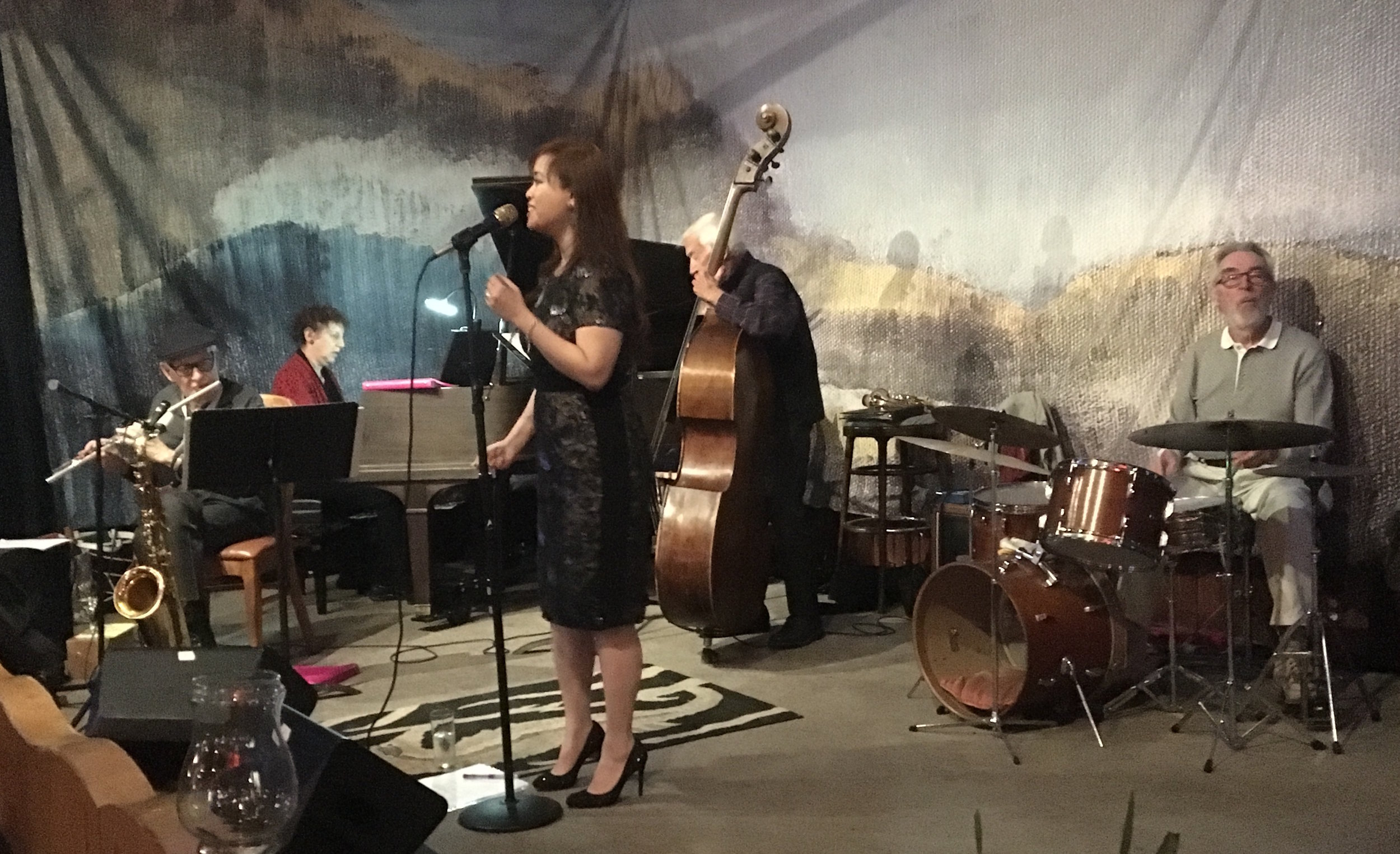 The Sausalito Seahorse with the Noel Jewkes Quartet - Tuesday, May 22nd, 2018 | SausalitoThu was excited and honored to debut at the Sausalito Seahorse with the great Noel Jewkes and his quartet! Noel Jewkes, also known as Dr. Legato, is considered one of the preeminent sax players in Northern California.Noel Jewkes - sax, flute; Laura Klein - piano; Dean Reilly - upright bass; Lee Charlton - drums
