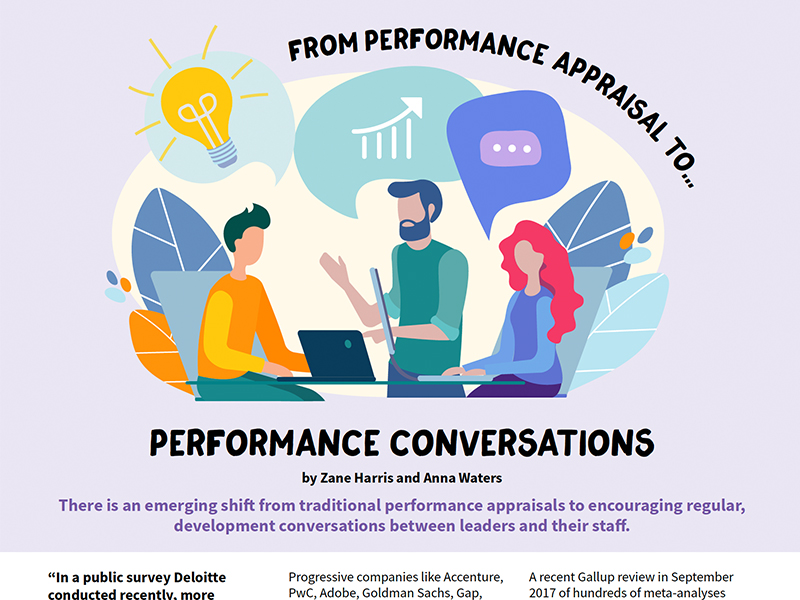 From Performance Appraisal to Performance Conversations