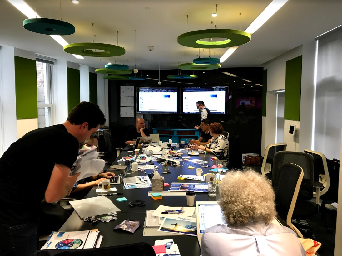 London, UK   ThoughtWorks Workshop  August 2019