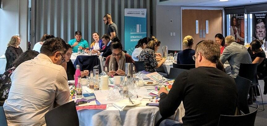 Auckland, New Zealand   Angie and Matt leading the NP Foundations workshop in Auckland  March 2019