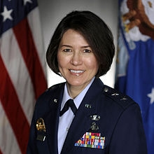 Major General (Ret.) Sharon K. G. Dunbar (USAFA '82), VP of Human Resources, General Dynamics Mission Systems