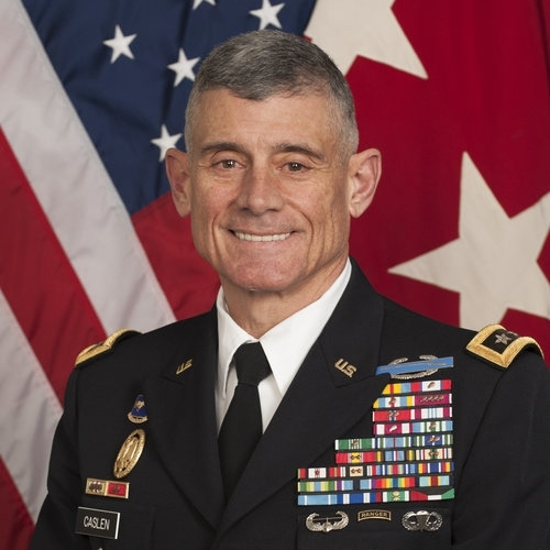 LTG (Ret.) Robert Caslen (USMA '75), 57th Superintendent of the U.S. Military Academy