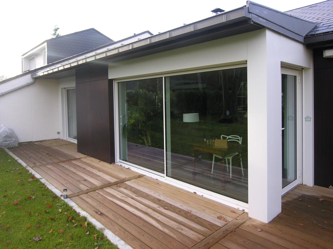 Atelier Prevost architectes - extension d'une maison du parc de cassan a l'Isle-adam