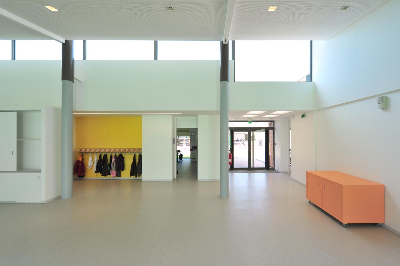 Atelier Prevost architectes - ecole Jean Zay a Beaumont sur Oise
