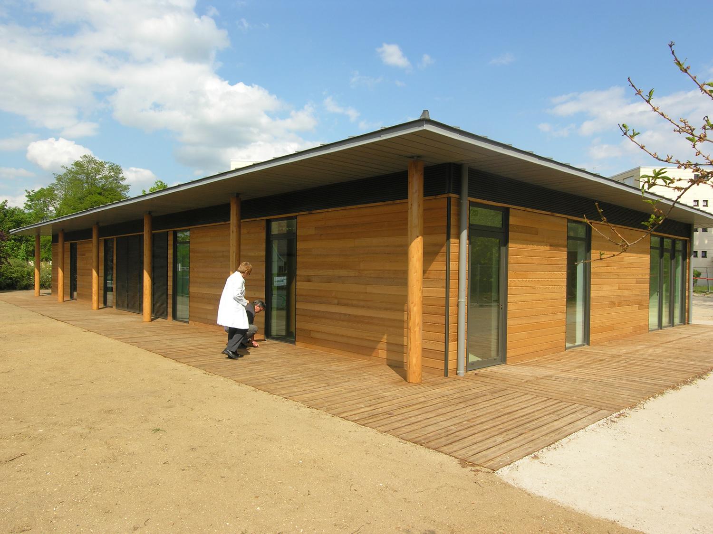 Atelier Prevost, architectes - Maison des associations à l'Isle Adam