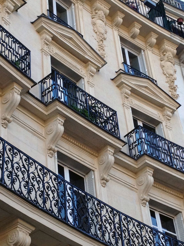 Atelier Prevost architectes - Ravalement d'un immeuble Haussmannien à Paris
