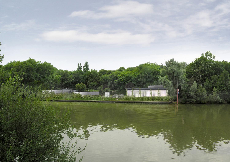 Atelier Prevost architectes - Station d'epuration à Butry