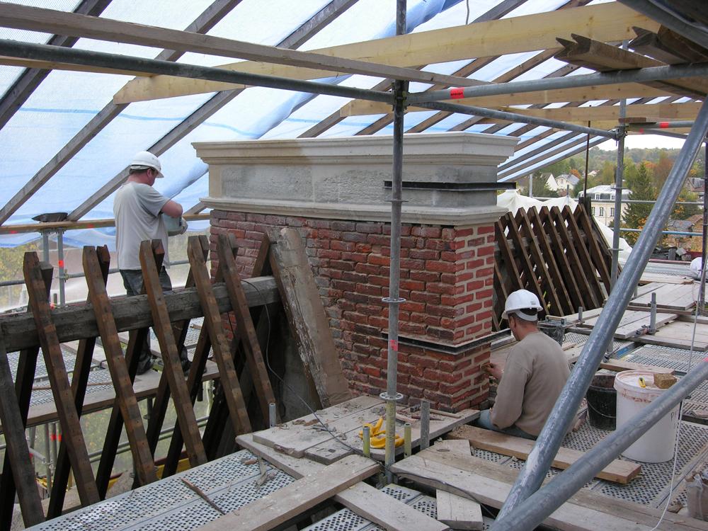 Atelier Prevost architectes - Restauration de l'Hotel de ville de l'Isle Adam