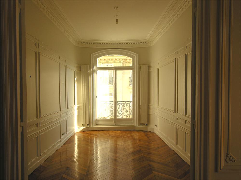 Atelier Prevost architectes - Restauration d'un appartement à Paris