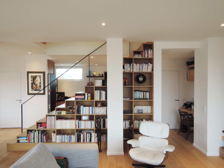 Atelier Prevost architectes - réhabilitation d'un duplex