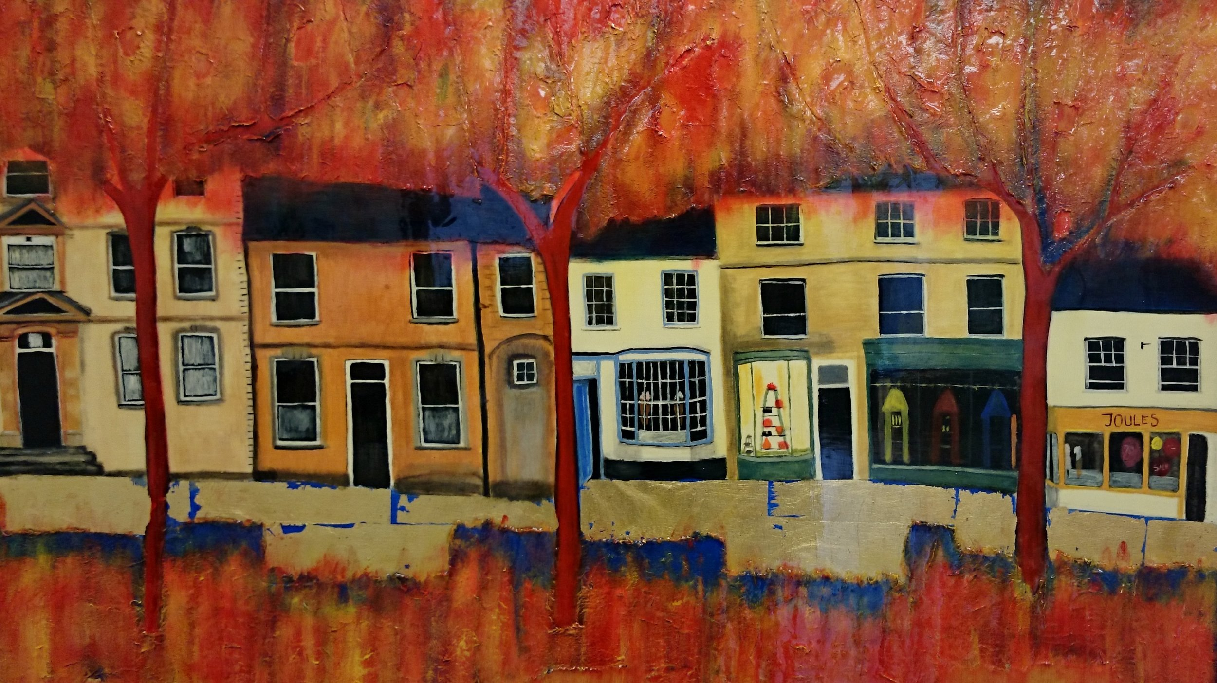 Jane Hathaway Witney High Street Mixed Media.JPG
