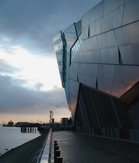 The Deep aquarium and submarium, in Hull, East Yorkshire