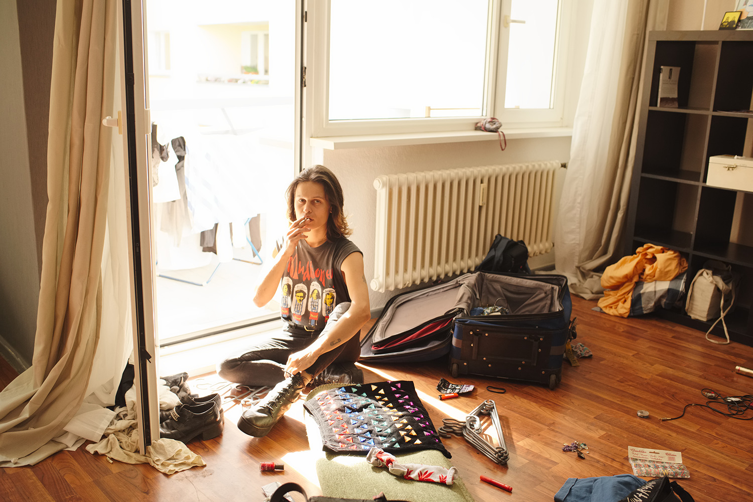 V moving out, Berlin, 2016