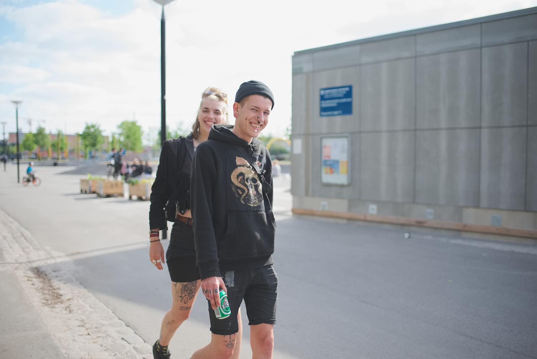 Kris and Noa  , K Town, Copenhagen, 2016