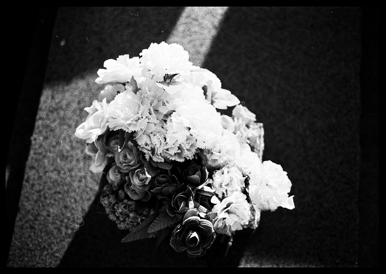 Plastic Flowers for the dead  , Waverly Cemetery, Australia, 2016