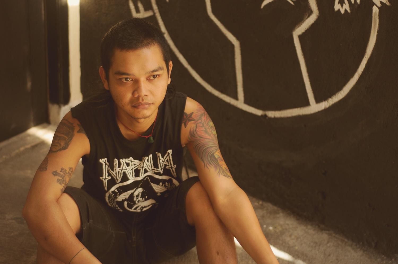 Ivan, Kontrat Social drummer, Bandung, Indonesia, 2012
