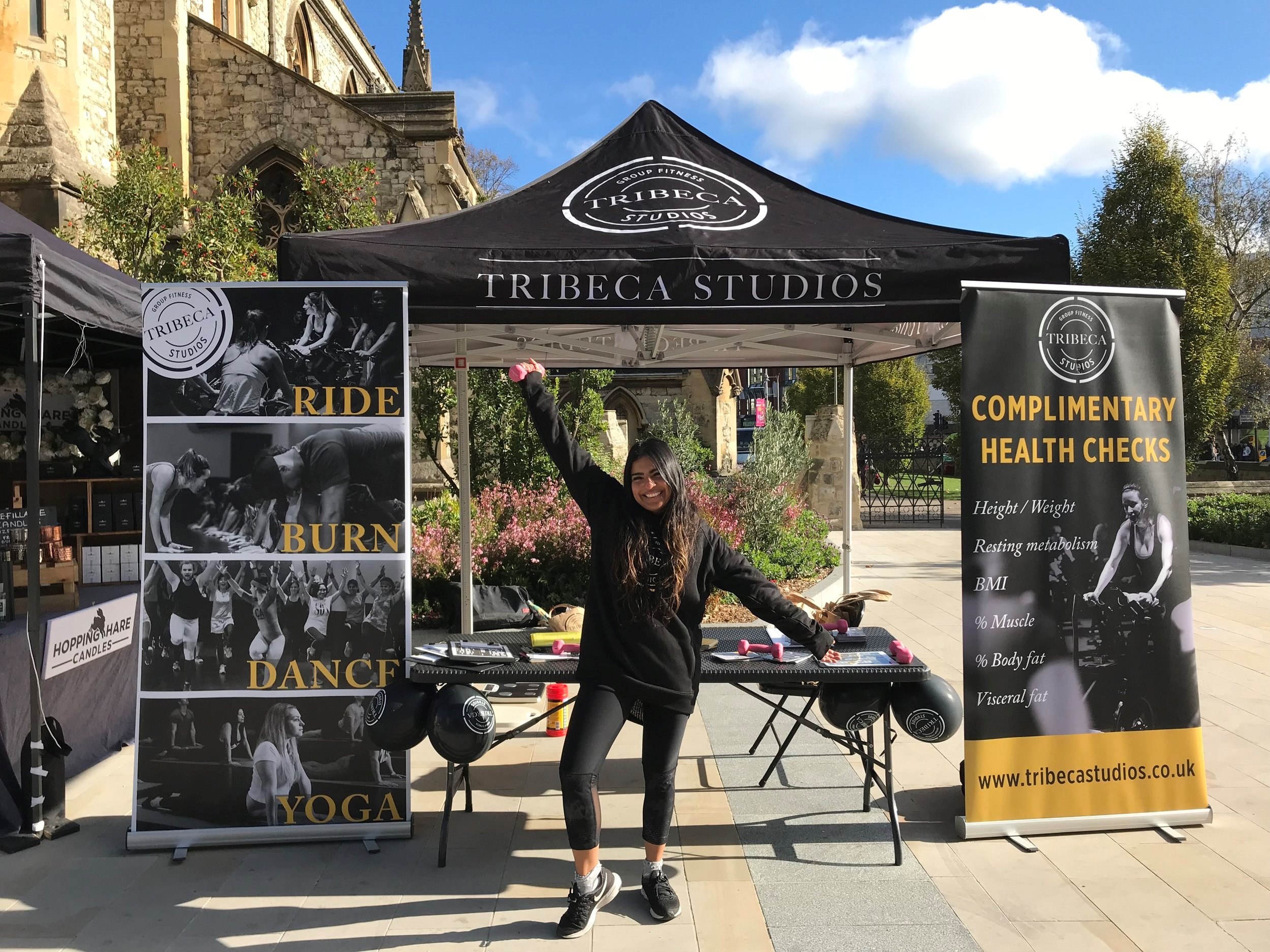 - Tribeca Studios15th DecemberFitness studio based in Ealing. Why give the gift of fitness?! Talk to the team to learn more on their wide range of classes.
