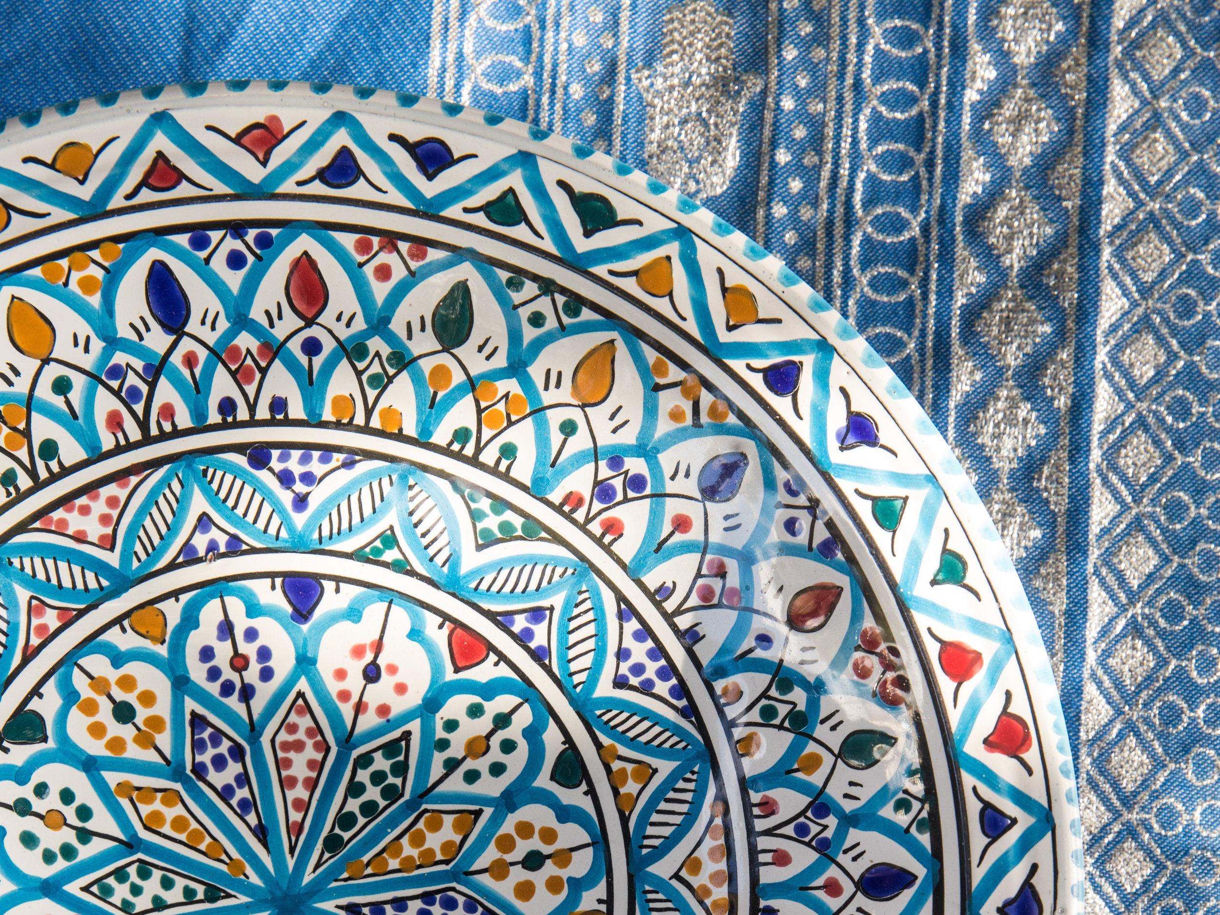 - Sidi Bou15th and 22nd DecemberTraditional and custom made Tunisian art, ceramics, plates, cups, tajines among other things. Make a statement on your Christmas table this year!