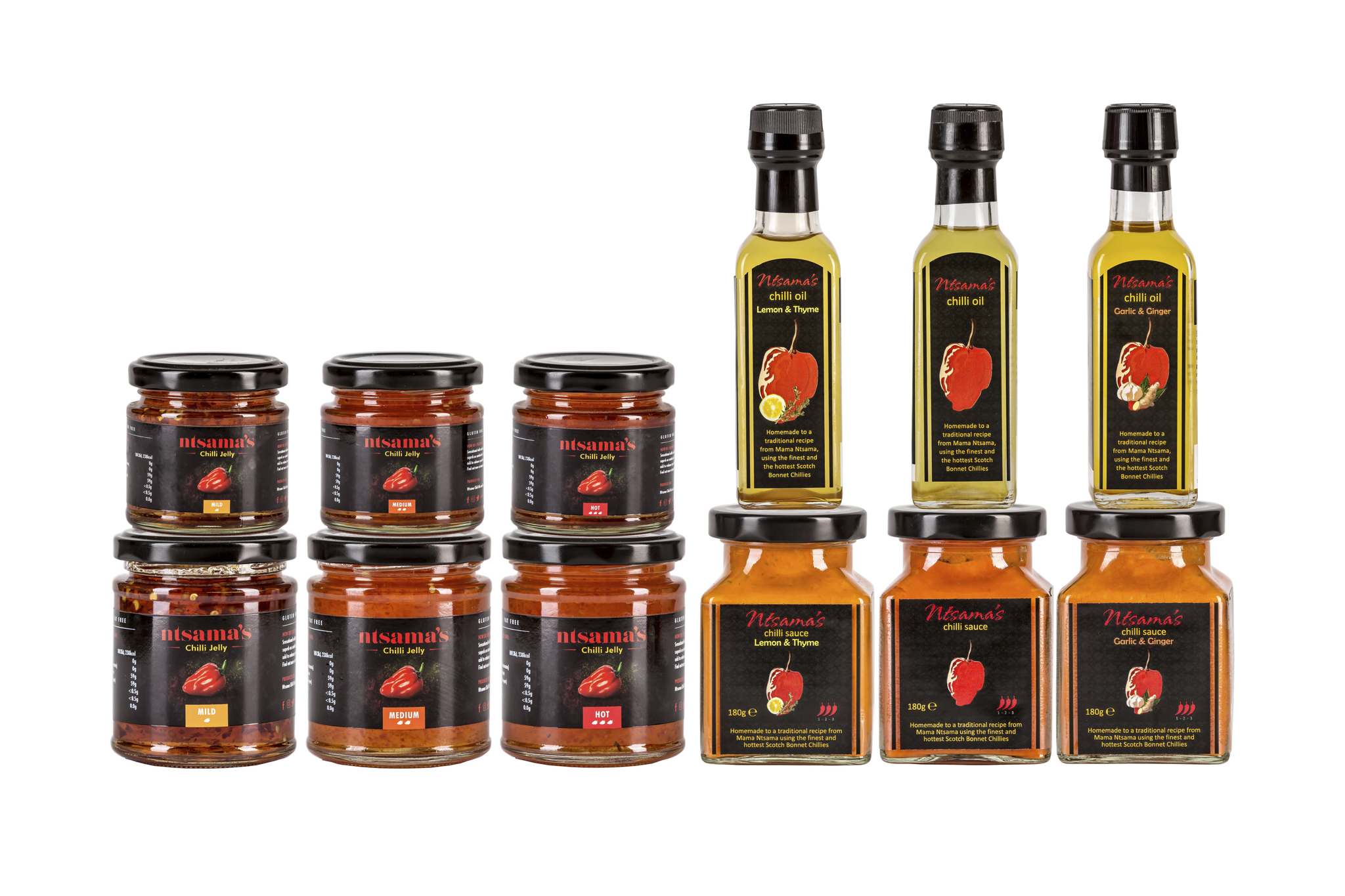 Ntsama Chilli Oil and Sauces