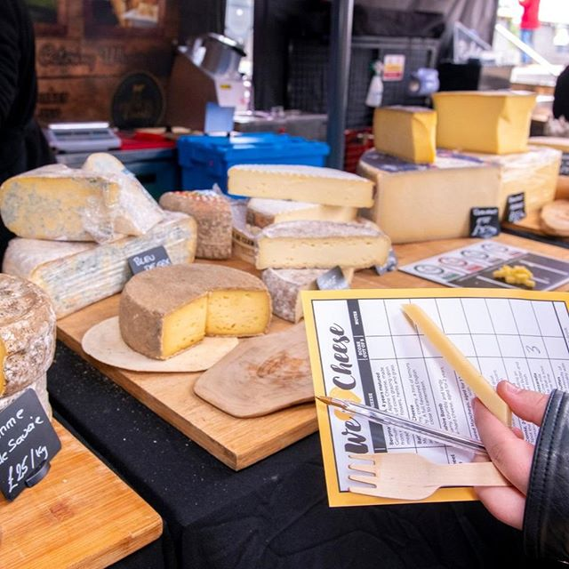 👑HELP DECIDE THE WINNER OF THE WE LOVE CHEESE CUP 🧀⠀ ⠀ A limited number of tasting cards is available at the Info Desk - be quick, they will go fast! ⠀ ⠀ Taste the 8 cheeses entered in the competition ⠀ @bigwheelcheese⁣⠀ @bathsoftcheese⁣⠀ @capocacciafinefood⁣⠀ @alpages.co.uk⁣⠀ @thefrenchcomte⁣⠀ @unenormandealondres⁣⠀ @brindisaspanishfoods⁣⠀ @mother_ldn⠀ ⠀ AND CAST YOUR VOTE ⠀ ⠀ #WeLoveCheese until 5pm @batterseapwrstn ⠀ .⠀ .⠀ .⠀ .⁣⠀⁣⠀ #foodporn #food #instafood #foodstagram #delicious #yummy #foodgasm #feedfeed #instayum #eeeeeats⁣ #cheeselover #foodfestival #freefestival #foodie #yum #foodlover #tasty #eat #cheeseporn #cheesey #cheeseboard #cheesy #fromage⠀ ⠀