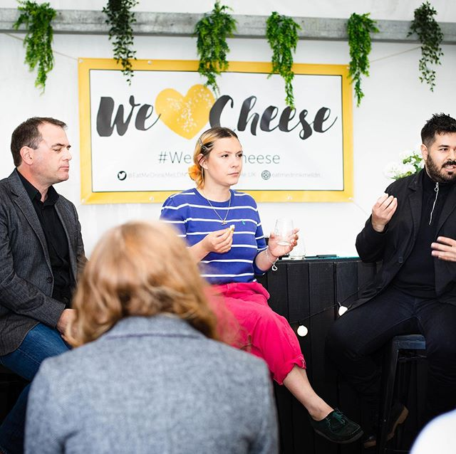Looking back at #WeLoveCheese @batterseapwrstn ⠀⠀ The Battersea Bites talks tent was the 💛 of the festival last weekend with a programme of talks, pairings and panel discussions. ⠀⠀ Flick through for some highlights  Thank you to @itscharlottewilde for curating this year's programme ⠀⠀ ⠀⠀ Plus ⠀⠀ ⠀⠀ @dbcheesynyc⁣⠀⠀ @patricia_michelson @lafromagerieuk⁣⠀⠀ @ylva_j_ @foodmadegood @unherdben @katyjfenwick @schoolofartisanfood⠀⠀ @gavmonery @brindisaspanishfoods @vagabonwines ⠀⠀ @hollychaves @winenrind @cheesetastingco @kuprosdairy ⁣@slowfooduk @batterseabrew @capocacciafinefood @heritagecheeseuk ⠀⠀ ⠀⠀ #ThrowbackThursday ⠀⠀ .⠀⠀ .⠀⠀ .⠀⠀ ⠀⠀ #foodstagram #foodie #cheeselovers #cheese #wineandcheese #batterseapowerstation #cheeseplease #cheeseevent #talks #foodprogramming #foodnews #ukevents #festivals #liveevents #instafoodie #loveefood #foodpassion #foodfeed #thisislondon #buzzfeedfood⠀⠀ ⠀⠀ ⠀⠀ ⠀⠀ ⠀⠀ ⠀⠀