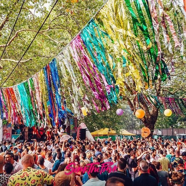 It's coming ❤️💛💚💙💜 @sink_the_pink - 'The Biggest Queer Party in The World' & @peggygou_ Presents are coming to #FinsburyPark next weekend and we are on  the lookout for 2 additional savoury street food traders Get in touch! . . . #festival #musicfestival #festivals #festivallife #eventcuration #sinkthepink #summer #summerfestival #peggygou #