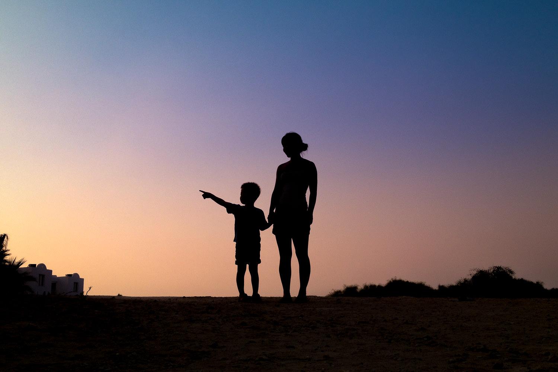 iPhone-bilde fra solnedgang på Kypros