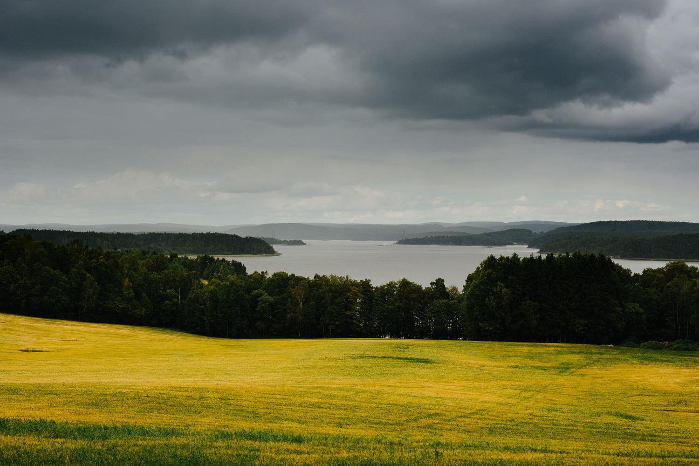 Utsikt mot Isesjøen i Sarpsborg