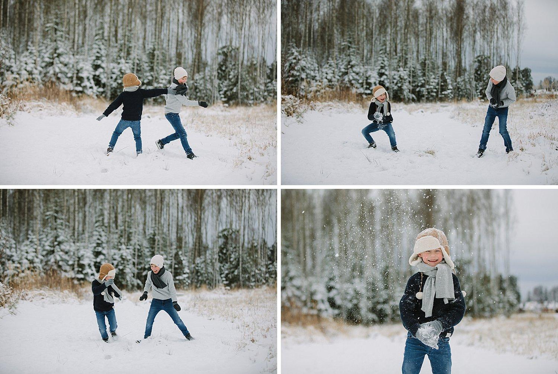 bilder av barn som leker i snøen i sarpsborg