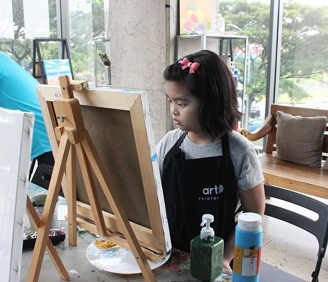 """Every child is an artist. The problem is how to remain an artist once we grow up"" - Pablo Picasso  #artipaintbar"