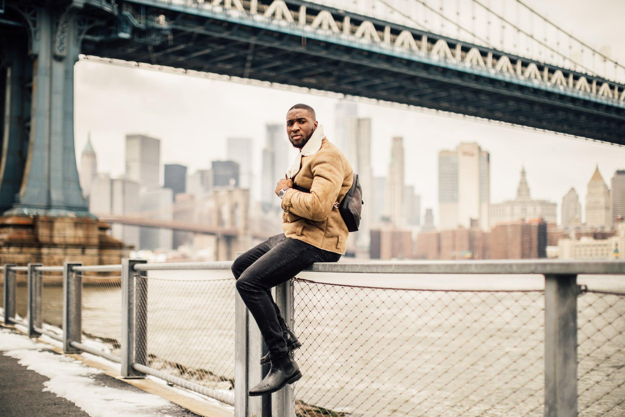 Daryl Wilson - Model in New York City