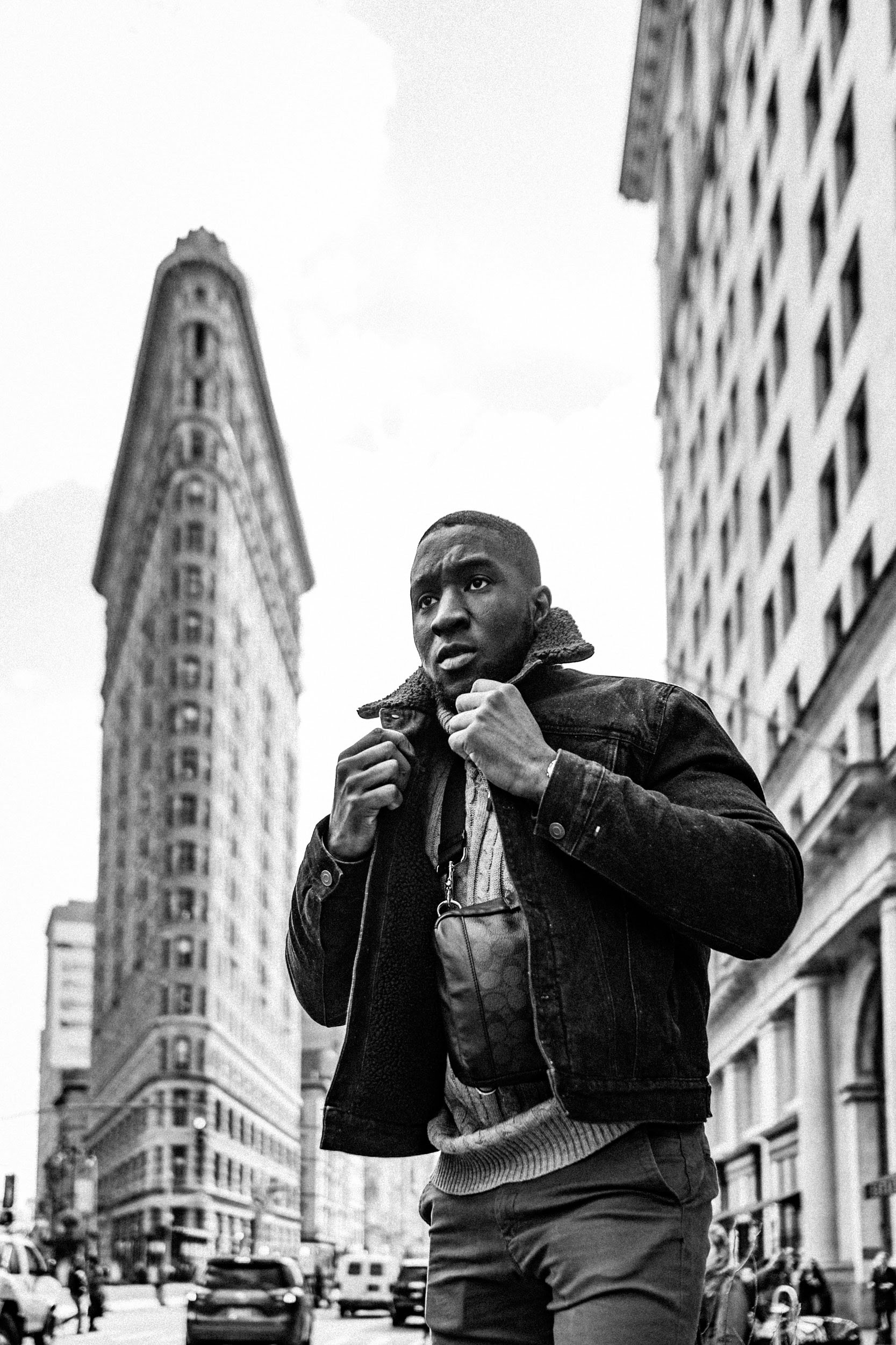 Daryl Wilson - Model in NYC - Flatiron