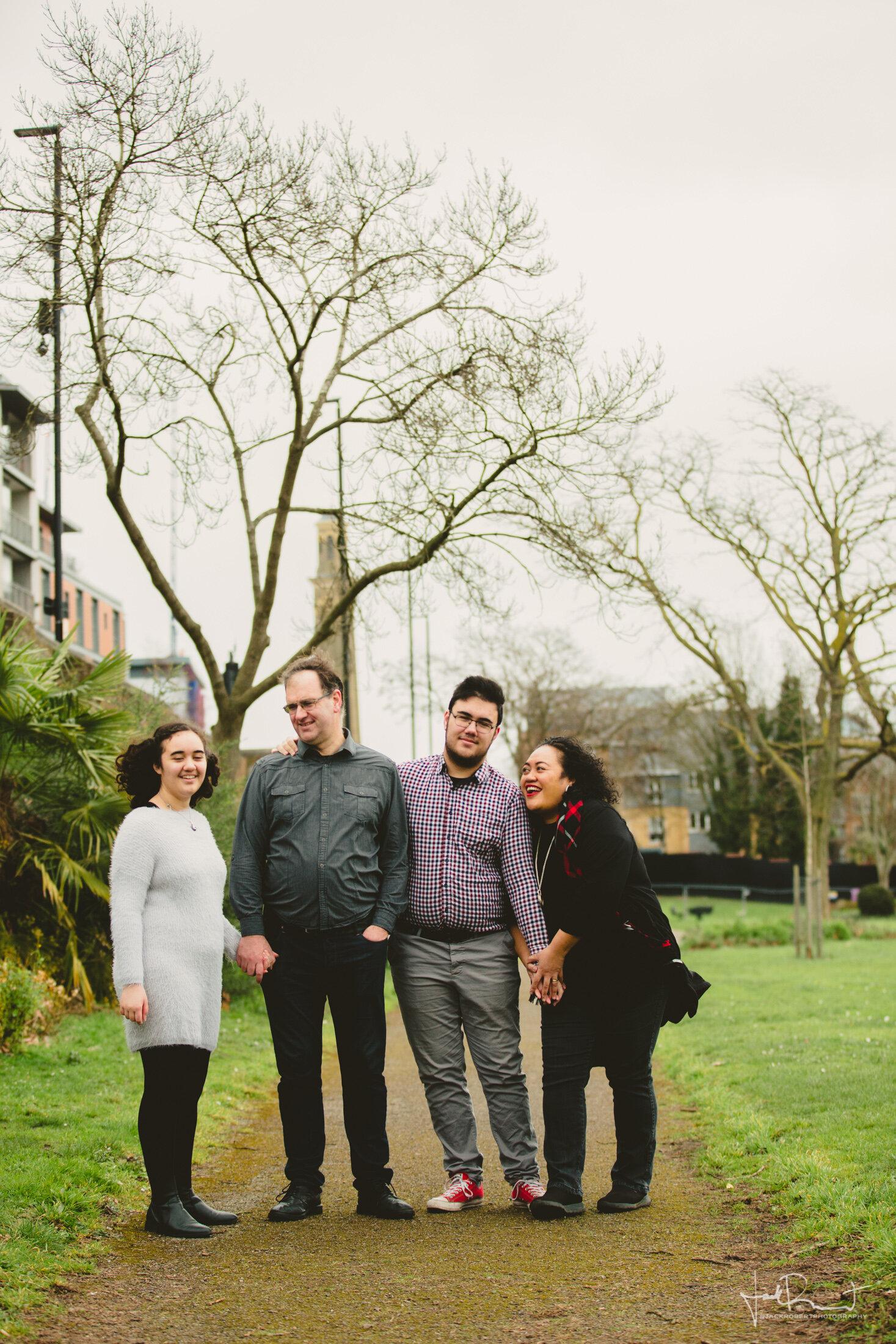Family Session - Cole Family - London, United Kingdom - Jack Robert Photography