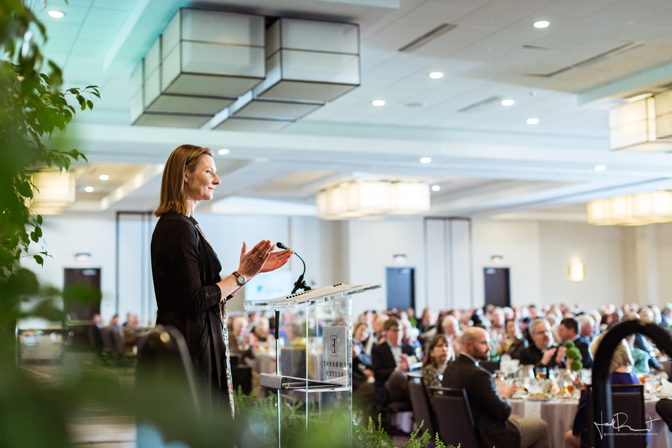 ANDREA COOPER  Event Photography - Upstate Forever - Forever Green Luncheon - Embassy Suites, Greenville, South Carolina - Jack Robert Photography