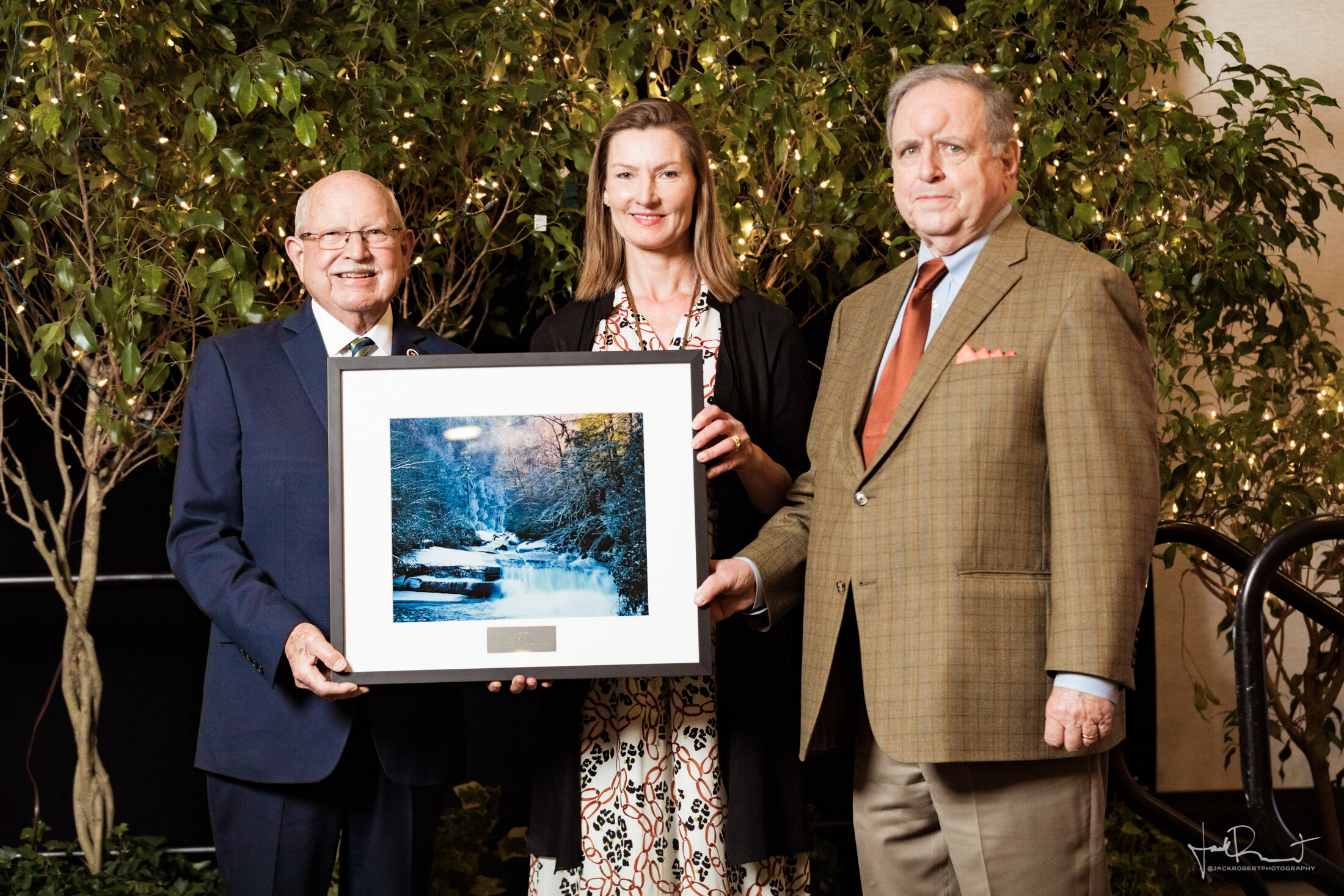 Representative Bill Sandifer, Andrea Cooper, E. ERWIN MADDREY II  Event Photography - Upstate Forever - Forever Green Luncheon - Embassy Suites, Greenville, South Carolina - Jack Robert Photography
