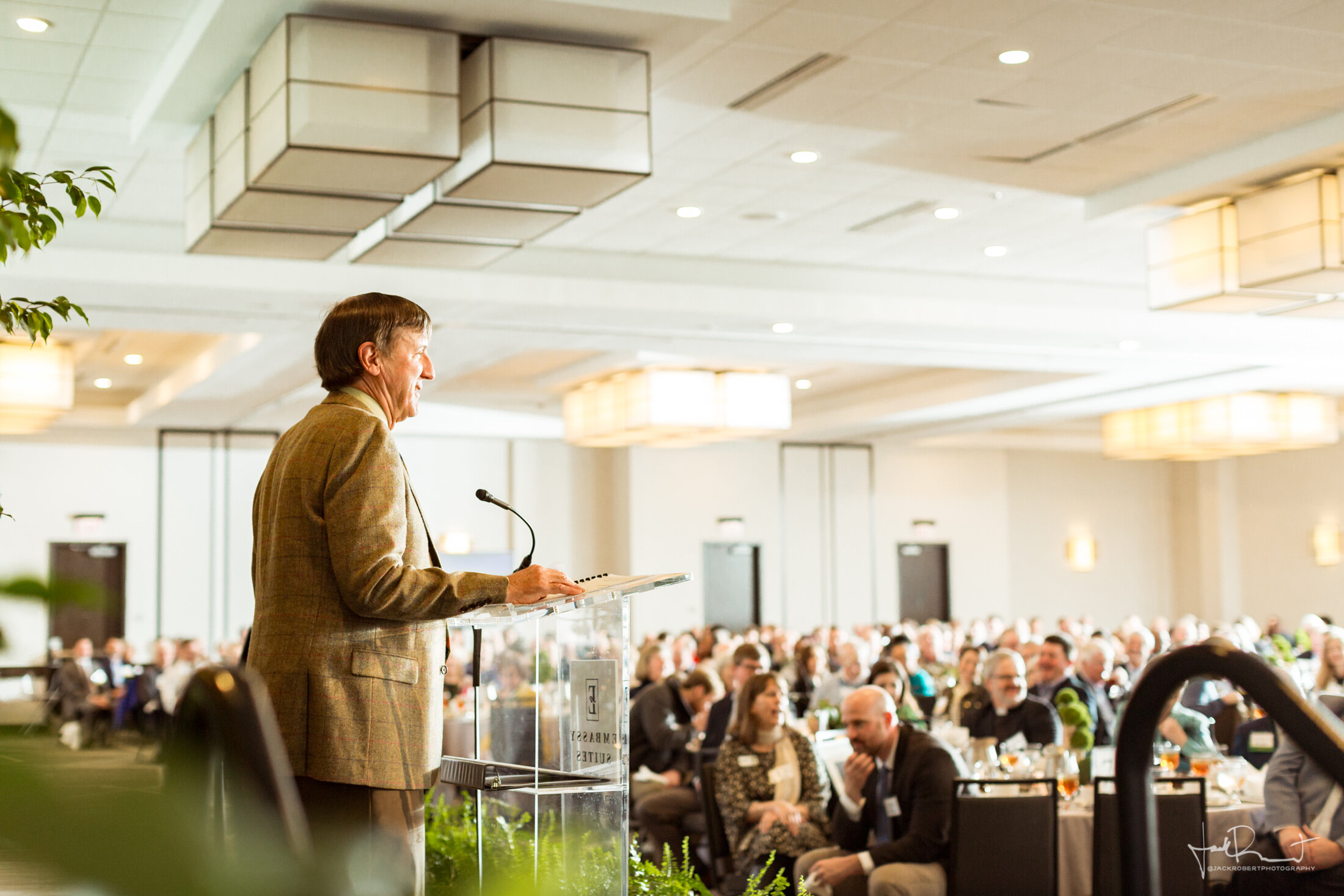 Brad Wyche  Event Photography - Upstate Forever - Forever Green Luncheon - Embassy Suites, Greenville, South Carolina - Jack Robert Photography